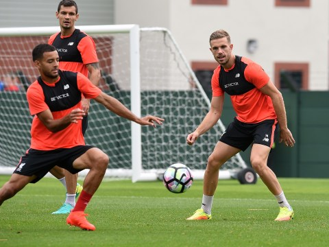 Liverpool midfielder Kevin Stewart says captain Jordan Henderson is the perfect role model for him