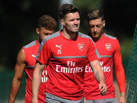 Arsenal defender Carl Jenkinson has hugely impressed Arsene Wenger with mentality during injury absence