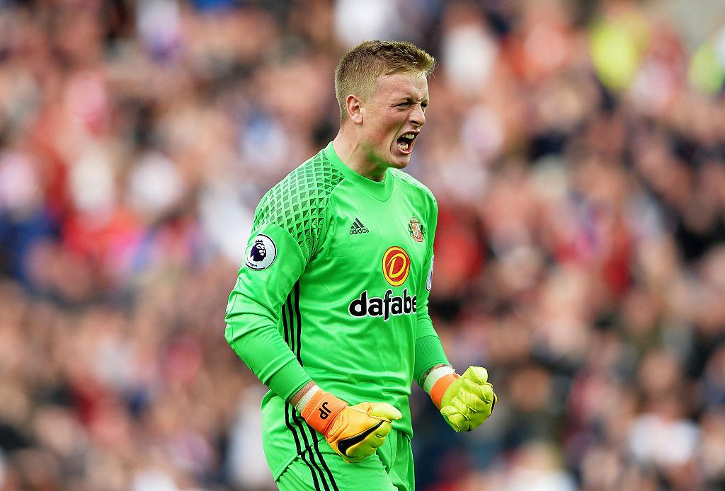 Sunderland goalkeeper Jordan Pickford called in to England squad after Tom Heaton injury