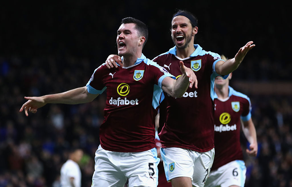 Manchester United made a mistake letting me go, claims Burnley's Michael Keane