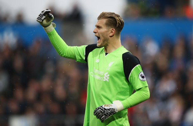 SWANSEA, WALES - OCTOBER 01: Loris Karius of Liverpool reacts during the Premier League match between Swansea City and Liverpool at Liberty Stadium on October 1, 2016 in Swansea, Wales. (Photo by Julian Finney/Getty Images)