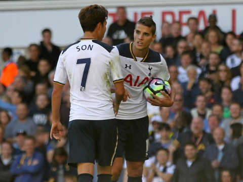 Erik Lamela and Son Heung-min fought over who would take spot-kick before penalty miss