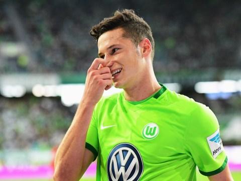 Arsenal transfer target Julian Draxler 'will definitely leave Wolfsburg at the end of the season'