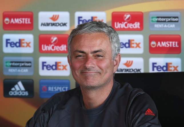 MANCHESTER, ENGLAND - OCTOBER 19: Manager Jose Mourinho of Manchester United speaks during a press conference at Aon Training Complex on October 19, 2016 in Manchester, England. (Photo by Matthew Peters/Man Utd via Getty Images)