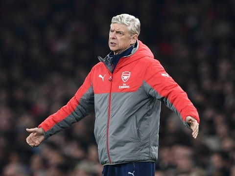 Arsenal boss Arsene Wenger furious at Reading's Danzell Gravenberch as Lucas Perez is ruled out for up to eight weeks