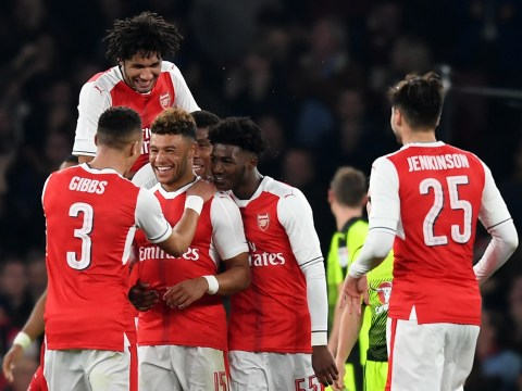 Arsenal hits and misses v Reading: Alex Oxlade-Chamberlain steals the show as Lucas Perez struggles to stamp his mark