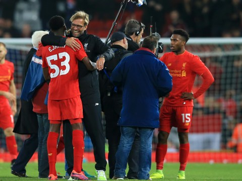 Liverpool boss Jurgen Klopp delighted with Daniel Sturridge but urges Ovie Ejaria and Trent Alexander-Arnold to do better