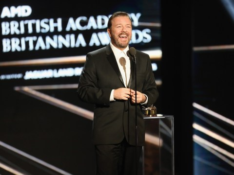 WATCH: Ricky Gervais made a drunk speech at the LA BAFTAs and it's brilliant