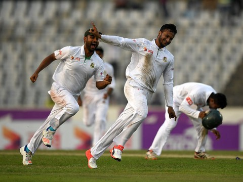 England collapse gives Bangladesh famous victory in Dhaka