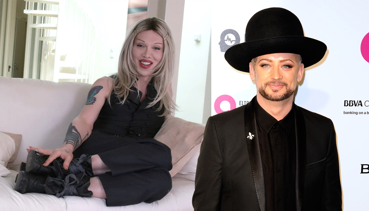 Boy George will honour Pete Burns at his funeral (Picture: REX)