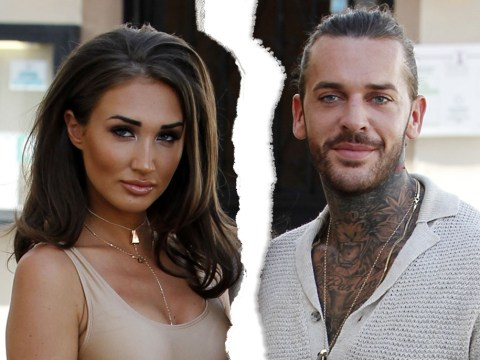 Towie's Megan McKenna and Pete Wicks split again following 'stress and pressure of constant rows'