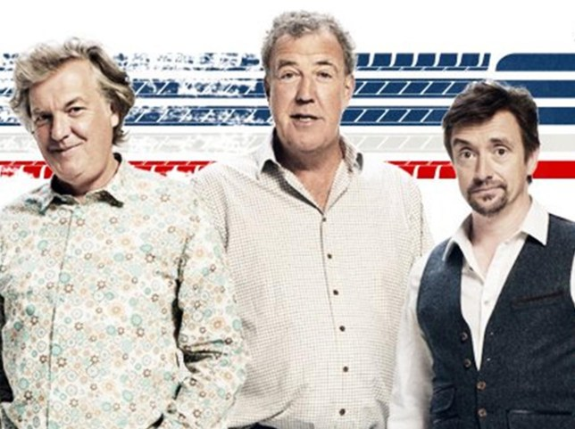 The Grand Tour which will be shown on Amazon Prime, starring Jeremy Clarkson, Richard Hammond and James May...Credit Amazon Prime..Image from The Grand Tour Twitter page - for Nikki..grabbed Sept 2016