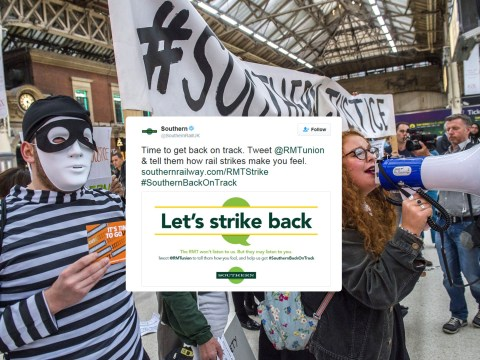 Southern Rail asked passengers to 'strike back' – it didn't go well