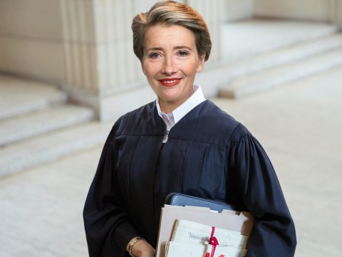 Emma Thompson sentences herself to the Royal Courts of Justice to research new film role