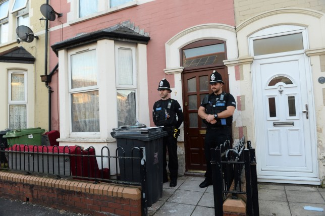 SCENE PICTURE OF THE HOME OF SAMATA ULLAH FROM THE DAY OF ARREST (23.09.2016). A computer technician from Cardiff was tonight(tues) charged with six terrorism offences including being a member of Isis. Samata Ullah, 33, was arrested by officers from the Metropolitan Police Service Counter Terrorism Command in a street in the Welsh capital. © WALES NEWS SERVICE