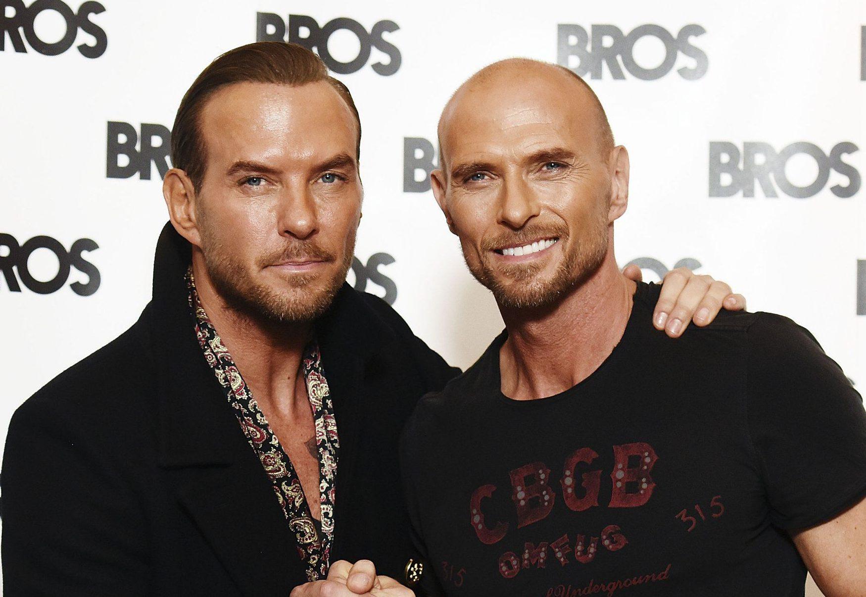 Bros are back! 80s pop stars Matt and Luke Goss reunite 24 years after the band split
