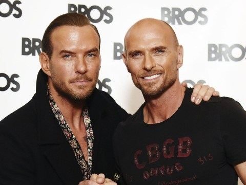 Bros are back! 80s pop stars Matt and Luke Goss reunite 24 years after the band split