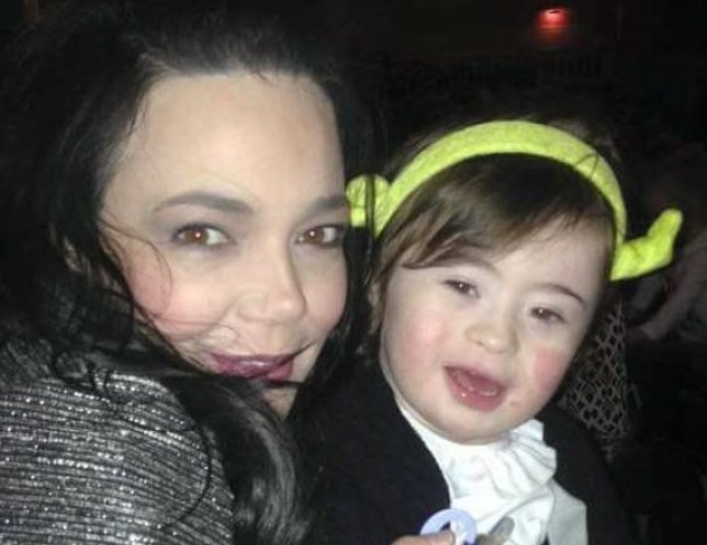 Simone Blount with her four-year-old son Stephen. n