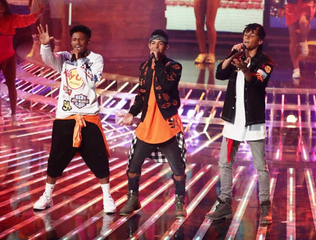 *** MANDATORY BYLINE TO READ: Syco / Thames / Dymond ***<BR /> Sam Lavery, The X Factor Live Finals - 8 October 2016 <P> Pictured: 5 After Midnight <B>Ref: SPL1370509  081016  </B><BR /> Picture by: Syco / Thames / Dymond<BR /> </P><P>