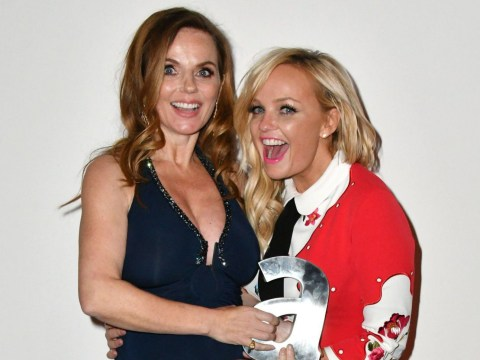It's another Spice Girls reunion as Emma Bunton supports Geri Halliwell at the Attitude Awards