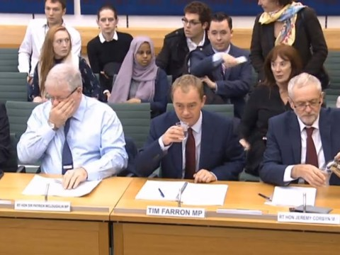 Notice anything about these four senior MPs discussing women in parliament?