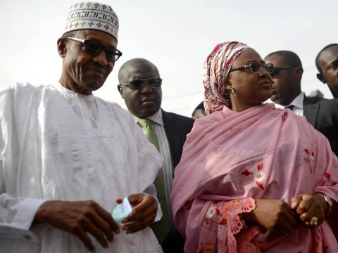 Nigerian president says his wife 'belongs in the kitchen and the bedroom'