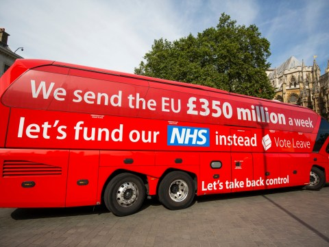 What bus? Theresa May tells health chiefs 'no extra money for NHS'