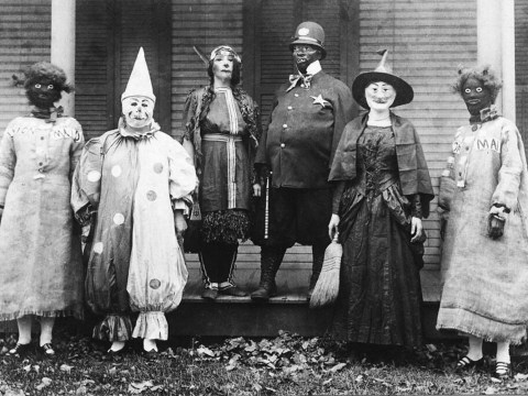 Halloween costumes in the 1920s were genuinely terrifying
