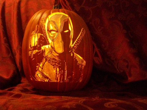 This award winning artist carves pop culture icons into pumpkins and they're scarily realistic