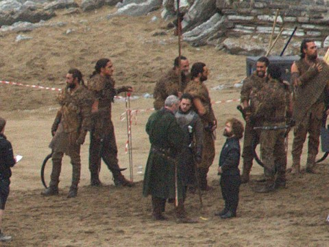 Game Of Thrones photos tease new alliances between former enemies Jon Snow and Tyrion Lannister