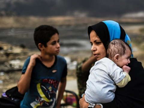 Children of Mosul: The gruelling hardship faced by the families displaced by war