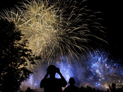 How to deal with people letting off fireworks late at night