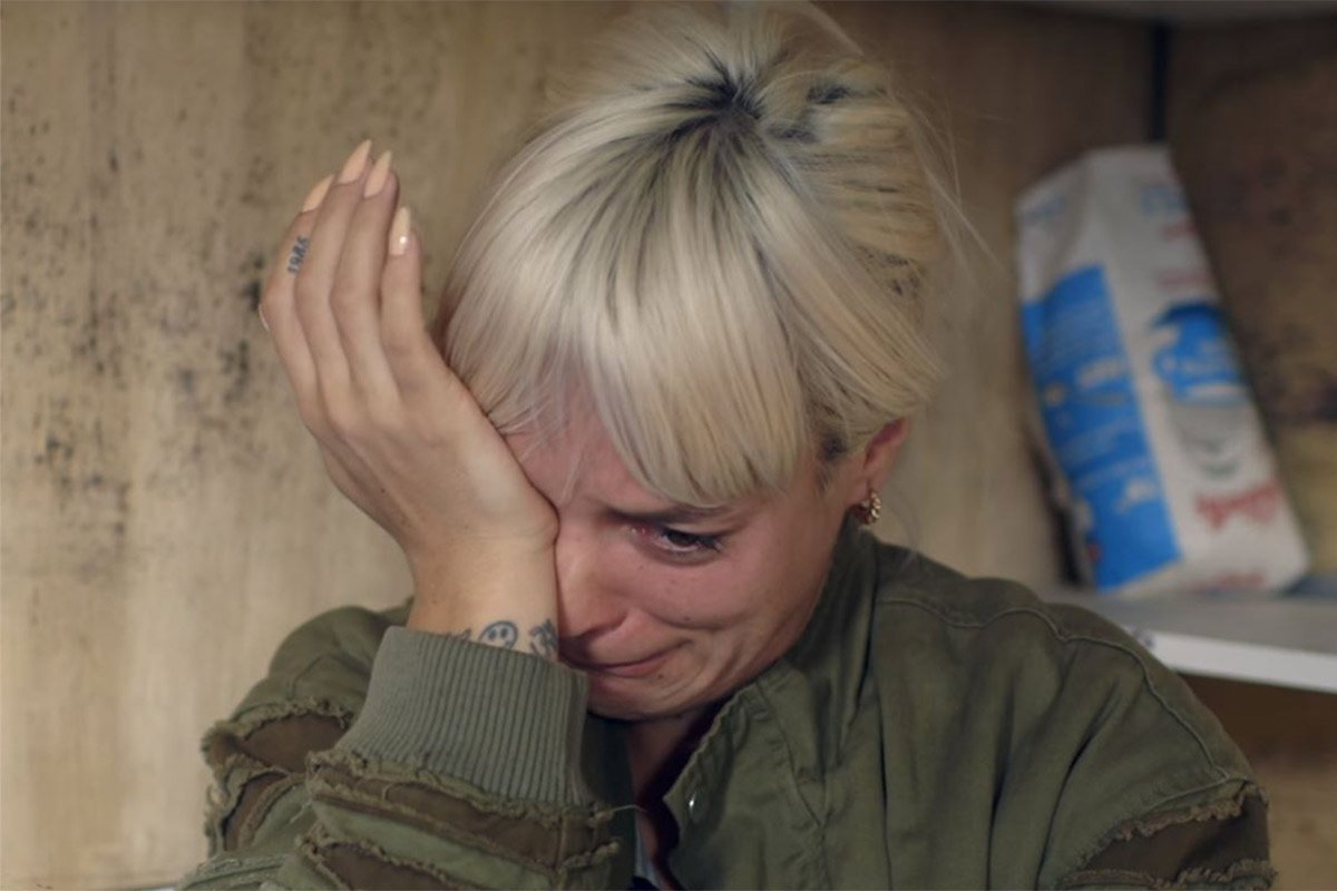 Lily Allen - Just tried to get in a black cab with my kids. The driver looked at me and said , 'find an immigrant to drive you you stupid tart' credit: BBC