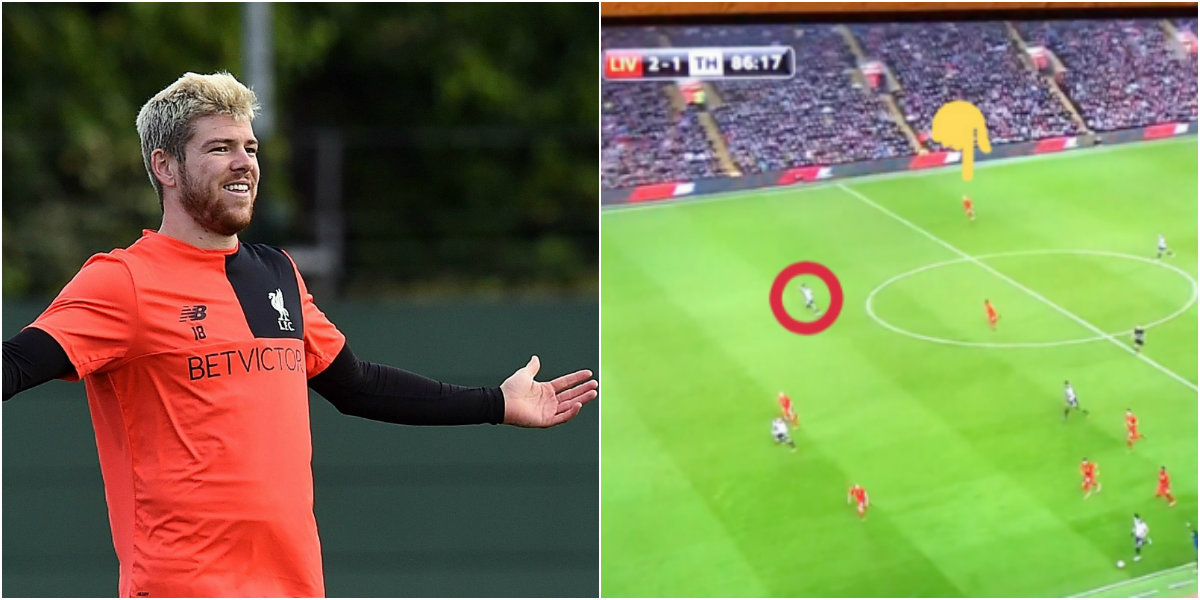 Liverpool fan destroys Alberto Moreno's left-back career with one picture