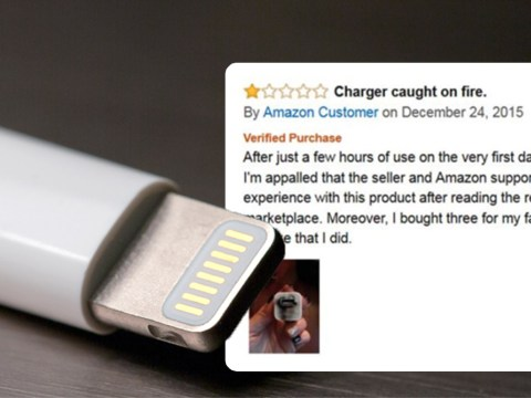 Apple says 90% of 'official' chargers and cables it found on Amazon are 'fake'