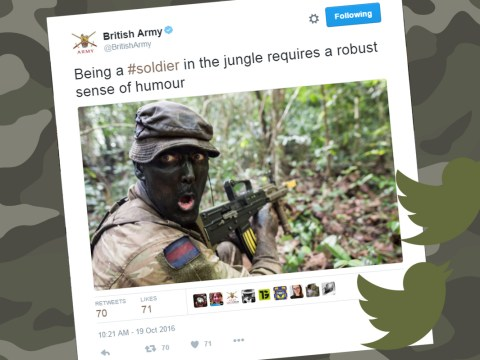 British Army accused of racism after tweet about 'sense of humour'