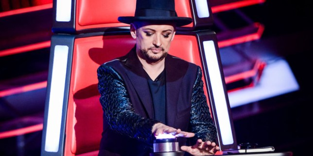 Boy George is taking on coaching duties on The Voice Australia in 2017 (Picture: BBC)