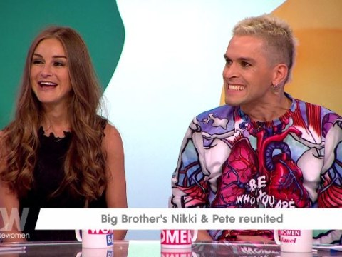 Big Brother's Pete and Nikki reunited on Loose Women and viewers couldn't get over the 'cringe'