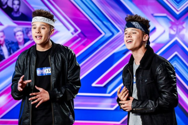 Josh and Kyle Brooks failed to appear on Saturday's show (Picture: ITV)