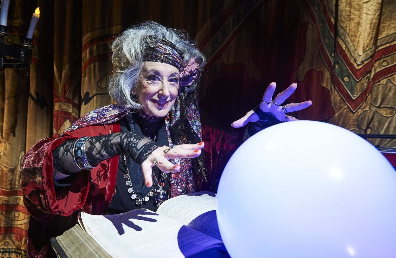 The Crystal Maze gives us our first look at Maureen Lipman as Mumsey