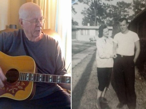 78-year-old man writes love song for his wife to celebrate 50 years together