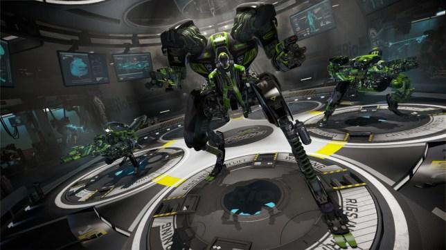RIGS: Mechanized Combat League (PSVR) - robot wars