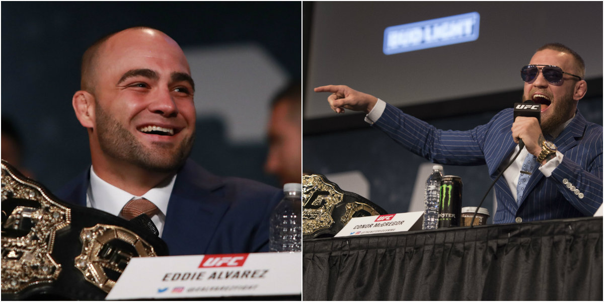 Eddie Alvarez thinks Conor McGregor may have been trying to sabotage UFC 205 clash
