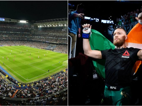 Real Madrid confirm they would be interested in UFC event in the Bernabeu with Conor McGregor as headline act
