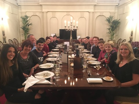 The Great British Bake Off bakers all went out for dinner and we weren't invited