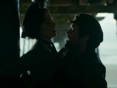'It's like a Halloween version of Geordie Shore!' Viewers turned off by Joanne Froggatt's vigorous sex scenes in Dark Angel
