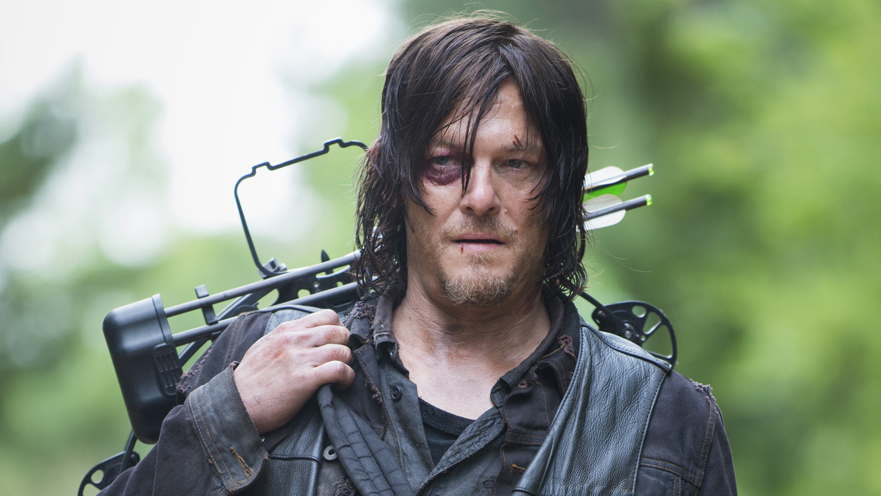 Walking Dead star Norman Reedus says fans will be 'kicking their TV sets' at the new series premiere