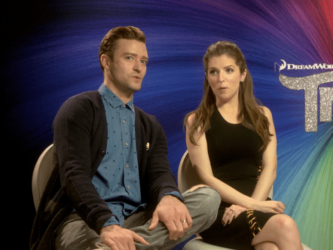 Justin Timberlake and Anna Kendrick talk Trolls and their other favourite 90s toys