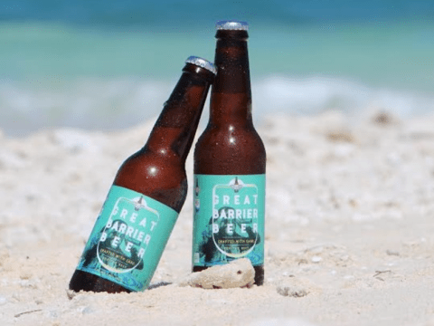 You can save the Great Barrier Reef by drinking beer