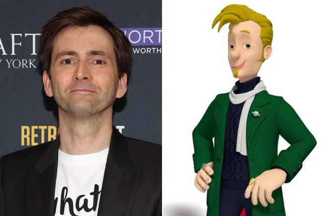David Tennant set for Fireman Sam spin-off that will hit the big screen in 2017